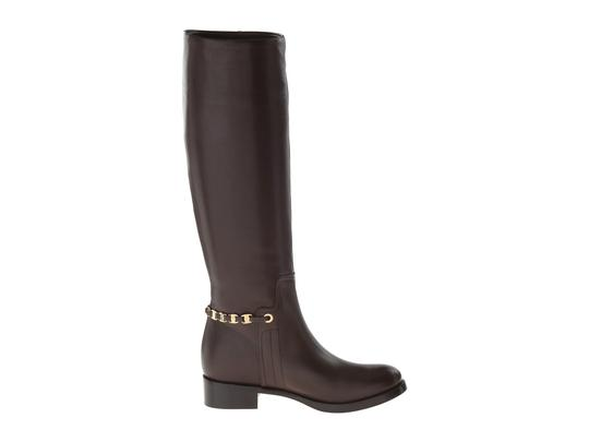 Salvatore Ferragamo Nando Brown Leather Calf Cacao Boots