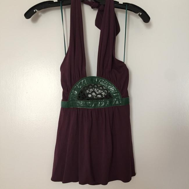 Preload https://img-static.tradesy.com/item/20835250/purple-green-summer-blouse-size-0-xs-0-0-650-650.jpg