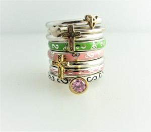 Other Antique Sterling Silver Stacking Rings - Sterling Silver Jewelry