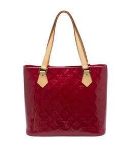 Louis Vuitton Lv Vernis Tote in Red