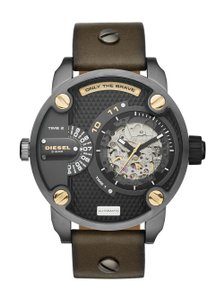 Diesel Diesel Men's The Daddies Series Leather Watch DZ7364