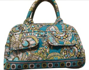 Vera Bradley Paisley Tote in Green and teal