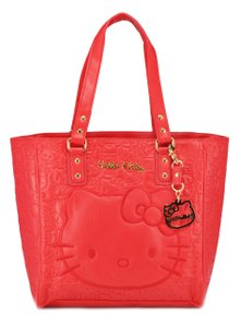 Hello Kitty Tote in red