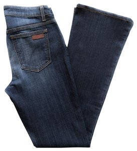 JOE'S Tmxx5864 Visionaire Blue Boot Cut Jeans-Dark Rinse