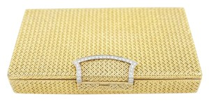 Van Cleef & Arpels Vintage Van Cleef & Arpels Yellow Gold Makeup Compact with Diamonds