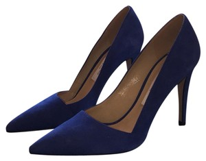 Saks Fifth Avenue blue Pumps