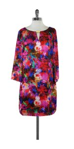 Laundry by Shelli Segal short dress Multi Colored Print Three Quarter Sleeve on Tradesy