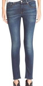 Rag & Bone Capri/Cropped Denim-Medium Wash