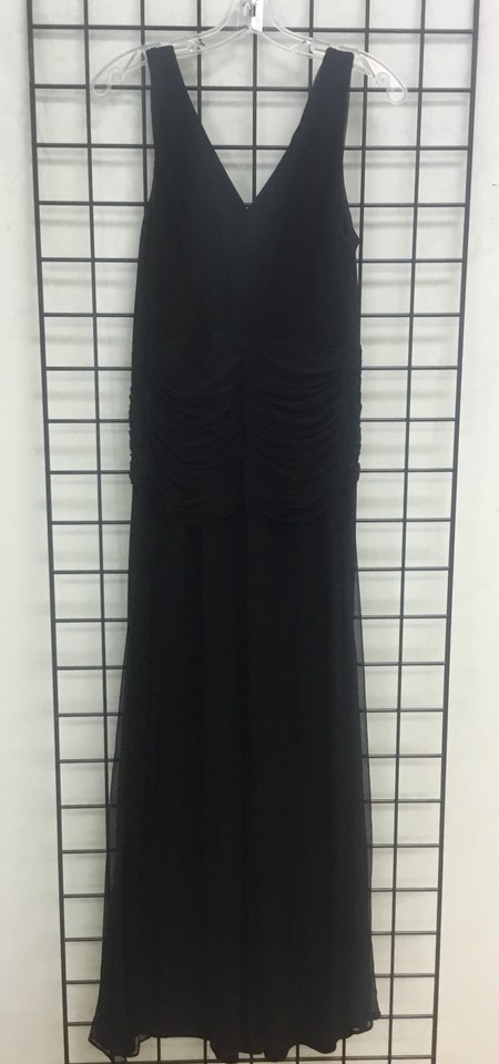 Joseph Ribkoff Black Evening Gown Long Formal Dress Size 8 (M) - Tradesy