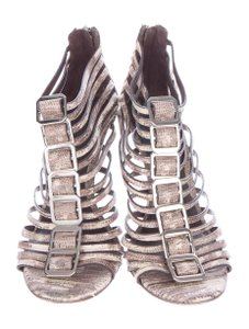 Tory Burch Cage Women ivory and taupe Sandals
