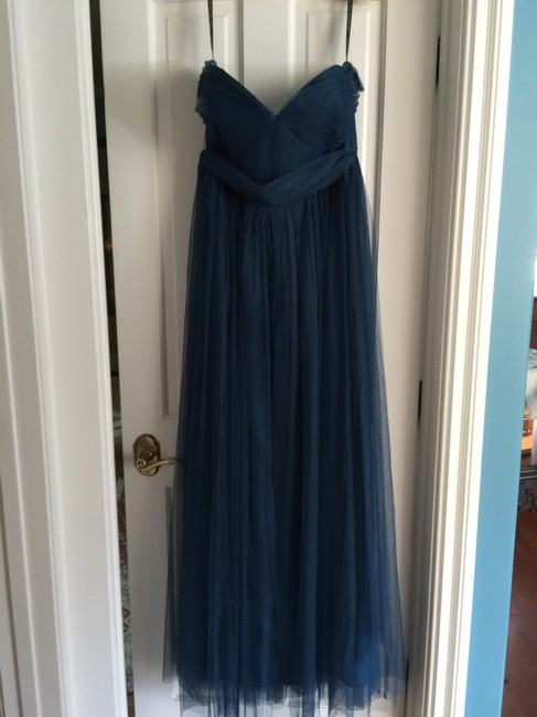 Item - Lapis Blue Tulle Annabelle By Modern Bridesmaid/Mob Dress Size 18 (XL, Plus 0x)