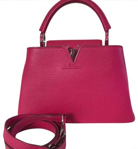 Louis Vuitton Satchel in Fuschia