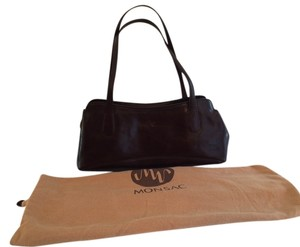 Other Dust Classic Design Leather Metal Feet Discontinued Satchel in Brown