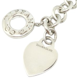 Tiffany & Co. Tiffany & Co. Silver Heart Necklace with Toggle