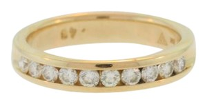 Other Stacked Diamond Wedding Band-14k Yellow Gold