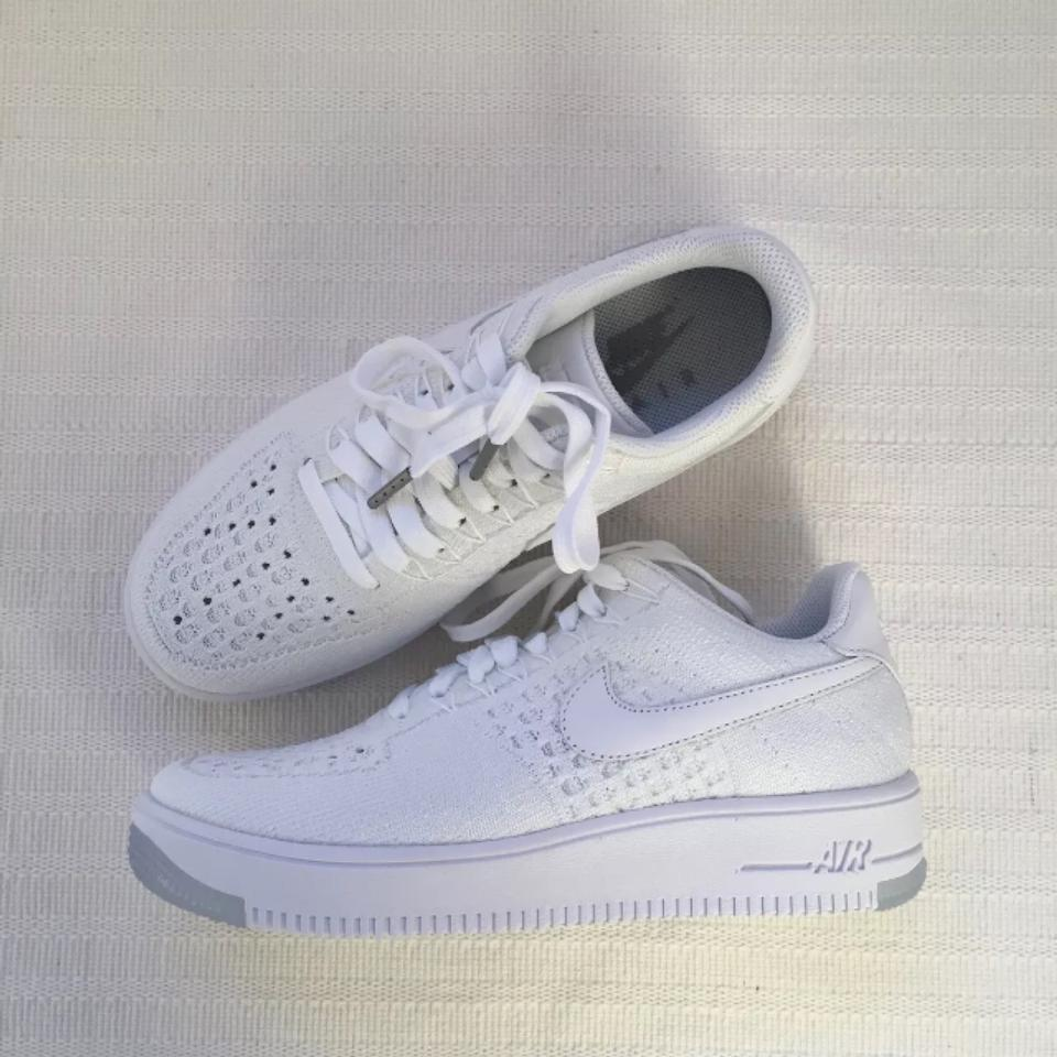 19074818b4cd Nike Women s Air Force 1 Low Flyknit Low Sneakers Style Color  820256-101  Sneakers Size US 6 Narrow (Aa