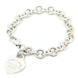 Tiffany & Co. Tiffany & Co. Return To Tiffany Heart Tag Charm Bracelet