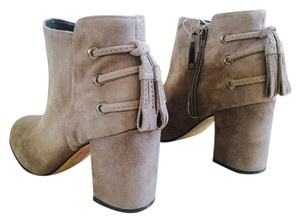 Rachel Zoe Twiggy Ankle Taupe Boots