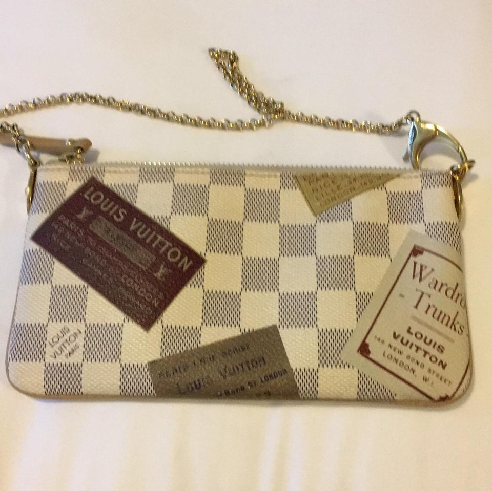 e051dc904731 Louis Vuitton Tag Limited Edition Small Purse Beige Green Shoulder Bag -  Tradesy