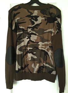 Central Park West Camoflage Sweater