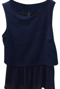 Green Envelope Top navy