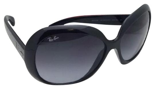 214268a0f8d Ray-Ban New Jackie Ohh Ii Rb 4098 601 8g Black Frame W  Grey ...