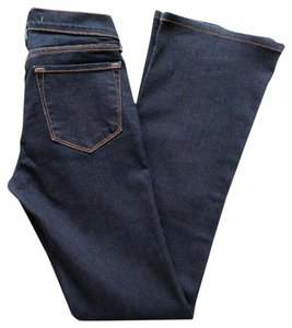 J Brand Skinny Made In Usa Boot Cut Jeans-Dark Rinse