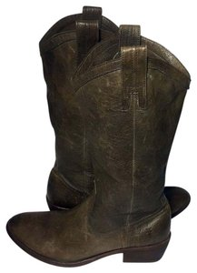 Frye 77686 Carson Carson Pull On Cowgirl Size 8.5 Women's 8.5 khaki Boots