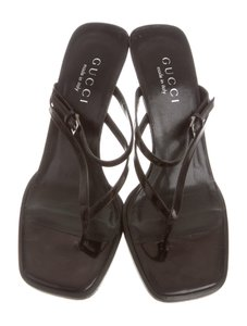 Gucci Women Summer black Sandals