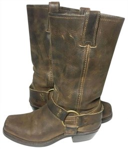 Frye 77300 Harness Motorcycle Size 6.5 Women's 6.5 Brown Boots