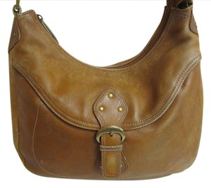 Stone Mountain Accessories Joanie Papaya Bone Leather Shoulder Bag ... 7830695021