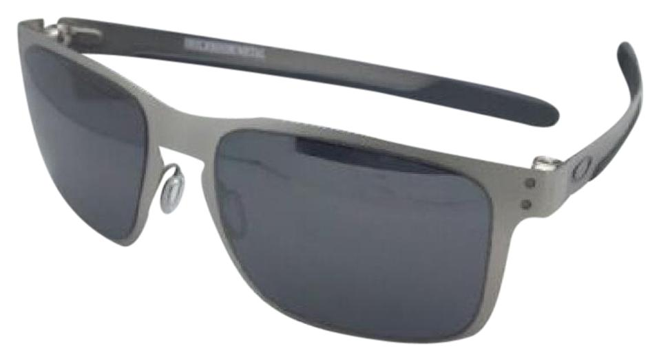 3b0b26d0cb5 Oakley New Oakley Sunglasses HOLBROOK METAL OO4123-03 Satin Chrome w   Mirror Image 0 ...