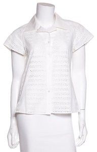 Akris Button Down Shirt White
