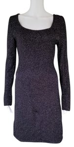 White House | Black Market Sweater Knit Lurex Dress