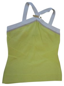 Cache Yellow Halter Top