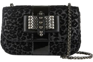 Christian Louboutin Sweet Charity Leopard Print Louboutin Sold Out Shoulder Bag