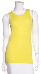 Chanel Top Chartreuse Yellow