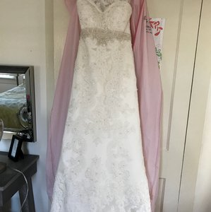 Casablanca Vintage Strapless Wedding Gown Wedding Dress