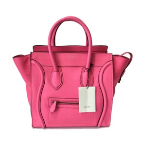 Céline Tote in Fluo Pink