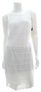 BB Dakota short dress White Floral Lace New With Tags Nwt on Tradesy