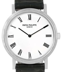 Patek Philippe Patek Philippe Calatrava 18k White Gold Automatic Mens Watch 5120