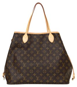 Louis Vuitton Monogram Neverfull Neverfull Neverfull Gm Tote in Brown