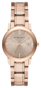 Burberry NEW IN THE BOX The City Burberry Ladies Rose Gold Watch BU9135
