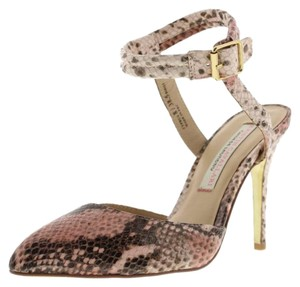 Chinese Laundry Snakeprint Rose, Light Pink & Brown Pumps