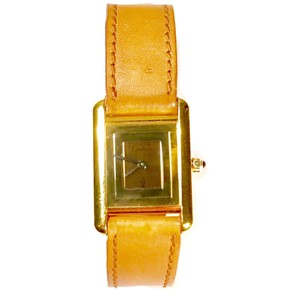 Cartier Must de Vermeil Argent Watch, 20mm