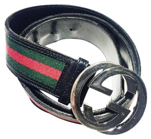 Gucci Authentic Gucci Interlocking G Buckle Belt