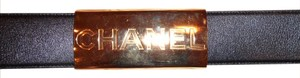 Chanel CHANEL AUTHENTIC BELT MADE IN FRANCE, SIZE 30, PERFECT LOOK, PERFECT F