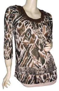 Alberto Makali Top brown black