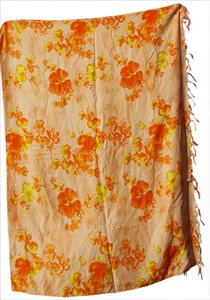 Other Hibiscus Collection Hawaii Rayon scarf wrap