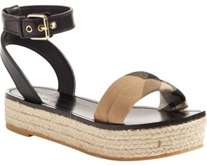 Burberry Platform Espadrille Parkeston Multi Sandals